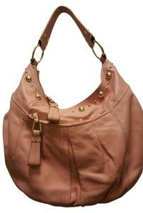 B. Makowsky Dusty Rose Bmak Hobo Bag