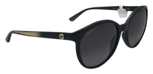 Gucci New Gucci Black/Gold Sunglasses GG Logo 3697/S