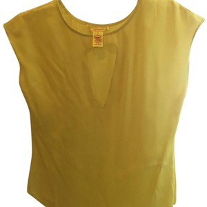 Catherine Malandrino Top Yellow