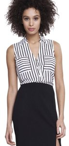 Express Top Black and white