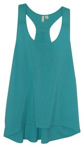 Frenchi Nordstrom Casual Top Turquoise