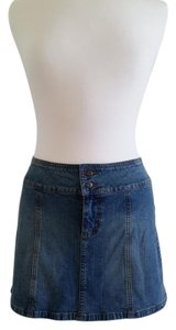 Guess Mini Vintage Mini Skirt Denim blue