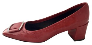Roger Vivier Red Patent Leather Pumps