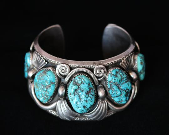 Rare jimmy victor begay navajo silver turquoise vintage for Jimmy s fine jewelry