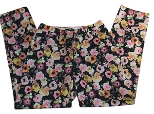 H&M Straight Pants Floral