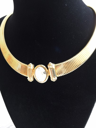 Other Crystal Gold-Tone Collar Necklace
