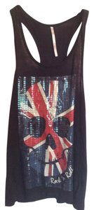 The Classic Uk British Biker Rocker Top Black