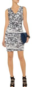 Diane von Furstenberg short dress Tie Dye Stripes Dvf on Tradesy