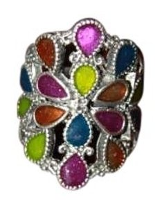 Fuego Multi-colored Ring