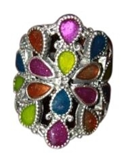 Preload https://item4.tradesy.com/images/blue-purple-yellow-orange-green-multi-colored-ring-169743-0-0.jpg?width=440&height=440