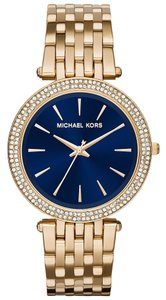 Michael Kors Michael Kors MK3406 Darci Navy Blue Dial with Gold-Tone Women's Watch