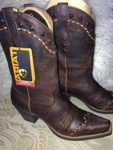 Ariat New In Box Oiled Brown Boots