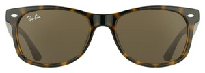 Ray-Ban NEW! Kids New Wayfarer Sunglasses RJ9052S, Tortoise, 47mm
