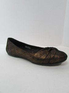 Brn Suede Lilly Ballet Brown Flats