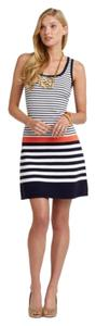 Lilly Pulitzer short dress Navy White Orange on Tradesy