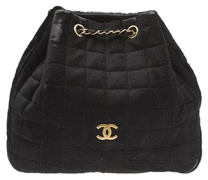 Chanel Pony Hair Quilted Shoulder Bag