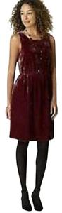 J. Jill Crushed Velvet Dress