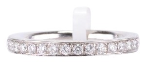 Platinum Chanel-Set Diamond Eternity Band Diamond Weight:
