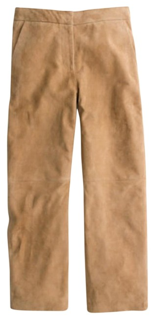 Preload https://item2.tradesy.com/images/jcrew-camel-collection-suede-patio-wide-leg-pants-size-00-xxs-24-16975681-0-1.jpg?width=400&height=650