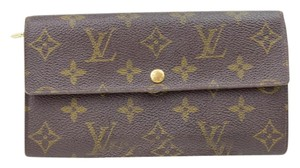 Louis Vuitton Louis Vuitton Long Wallet Monogram