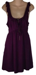 Kimchi Blue short dress Purple on Tradesy