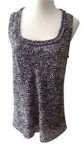 Dana Buchman Top Black, White
