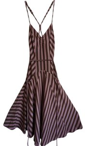 My Michelle short dress Pink Crisscross Strap Striped on Tradesy