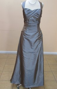 Impression Bridal Copper Taffeta 1692 Formal Bridesmaid/Mob Dress Size 12 (L)