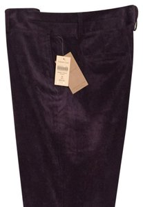 Coldwater Creek Boot Cut Pants grape