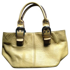 Tignanello Tote in Yellow