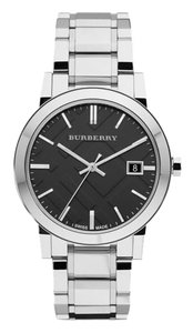 Burberry Mens Burberry stainless steel watch