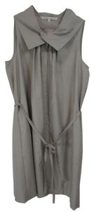 Rachel Roy short dress Gray Shift Sleeveless Belted on Tradesy