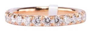 Other Round Diamond Eternity Band in 14-K Pink Gold