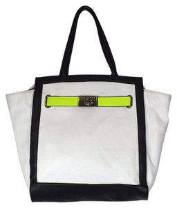 ALDO Tote in Black / White / Green