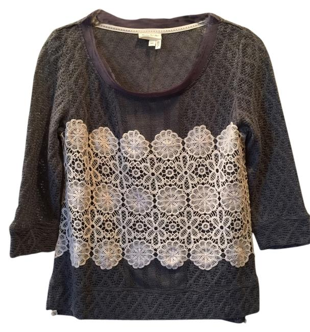 Preload https://item4.tradesy.com/images/anthropologie-gray-meadow-rue-lace-overlay-sweaterpullover-size-0-xs-1697843-0-0.jpg?width=400&height=650
