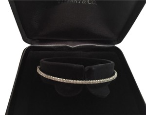 Tiffany & Co. Tiffany & Co. Metro diamond hinge bangle - medium