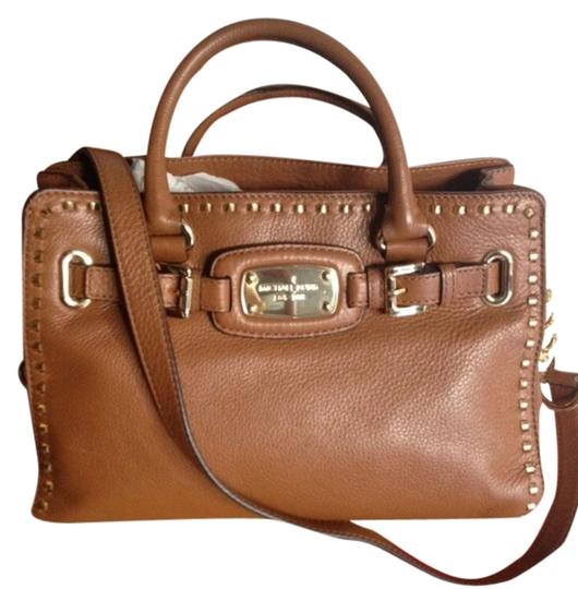 Michael by Michael Kors Satchel in Luggage