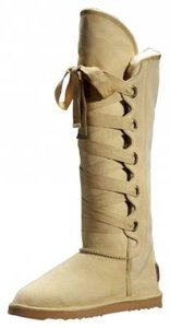 Australia Luxe Collective Mukluks Suede Sand Tan Boots
