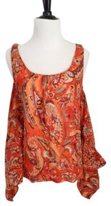 Michael Kors Top Orange/beige