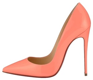 Christian Louboutin Flamingo Orange Pumps