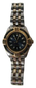 Pulsar Men's Watch Round Analog Two Tone