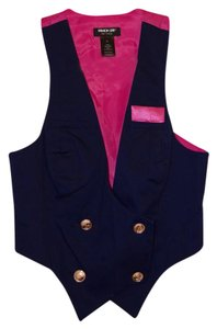 Macy's Fashion Star Buttons Vest
