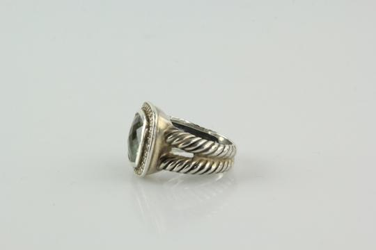 David Yurman 11mm Albion Ring with Prasiolite and Diamonds Image 2