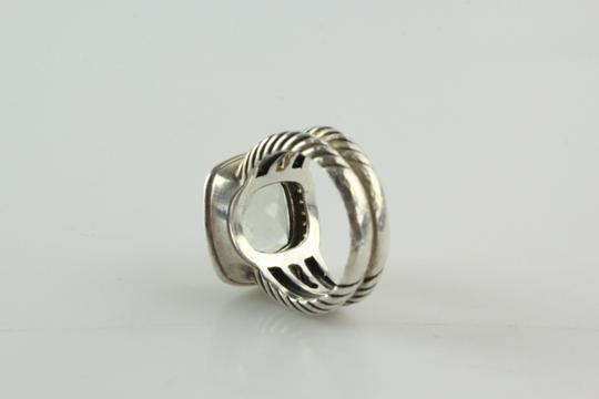 David Yurman 11mm Albion Ring with Prasiolite and Diamonds Image 3