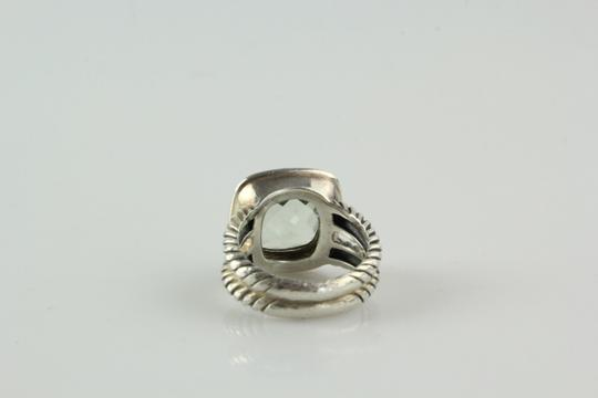 David Yurman 11mm Albion Ring with Prasiolite and Diamonds Image 4