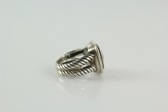 David Yurman 11mm Albion Ring with Prasiolite and Diamonds Image 5