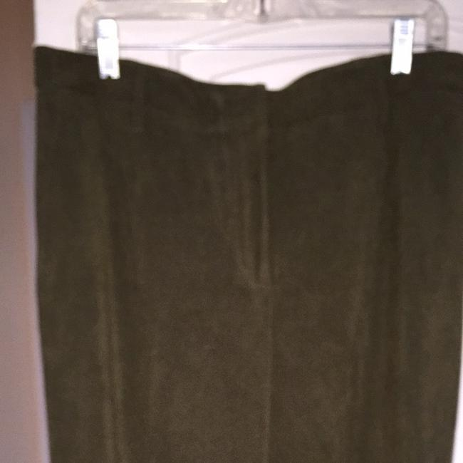 Coldwater Creek Straight Pants olive