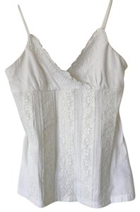 INC International Concepts Cami Cami Top White