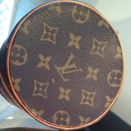 Louis Vuitton Satchel in Brown Leather LV