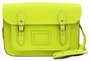 The Cambridge Satchel Company Neon Crossbody Satchel in Yellow